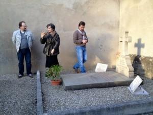 La tombe de Ferdinand Berthier.