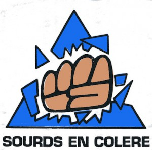 Le logo de Sourds en Colère