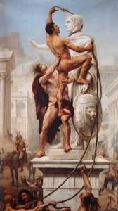 Sac de Rome 410 Par JN_Sylvestre  1847-1926